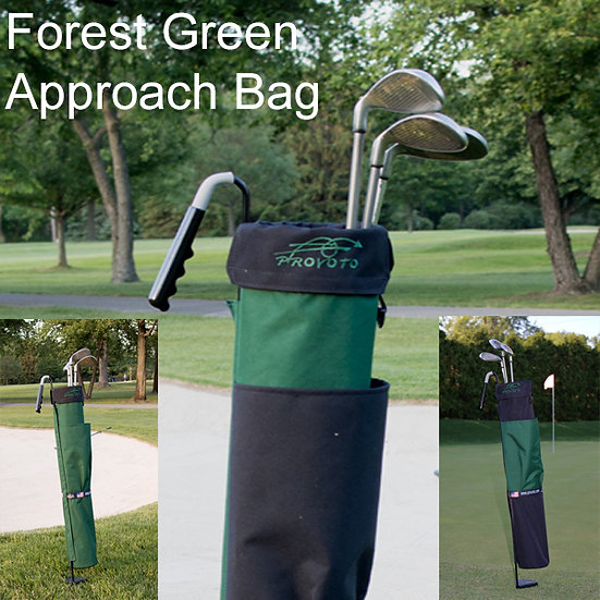 Forest Green Bag and Stand