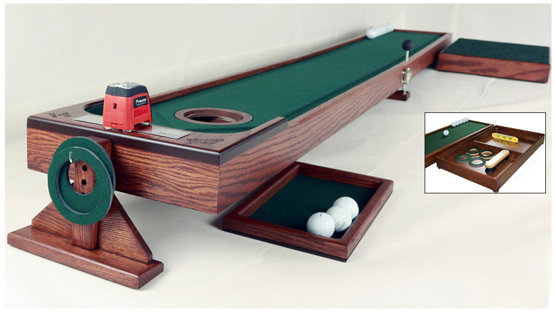 Putting Studio with Ball Corral