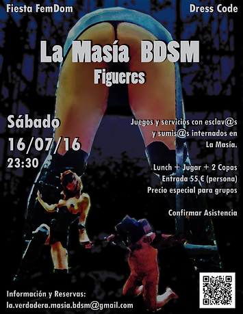 Fiesta FemDom en la Masía BDSM (Girona)