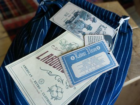 Labour Union - Pinstripe Trousers