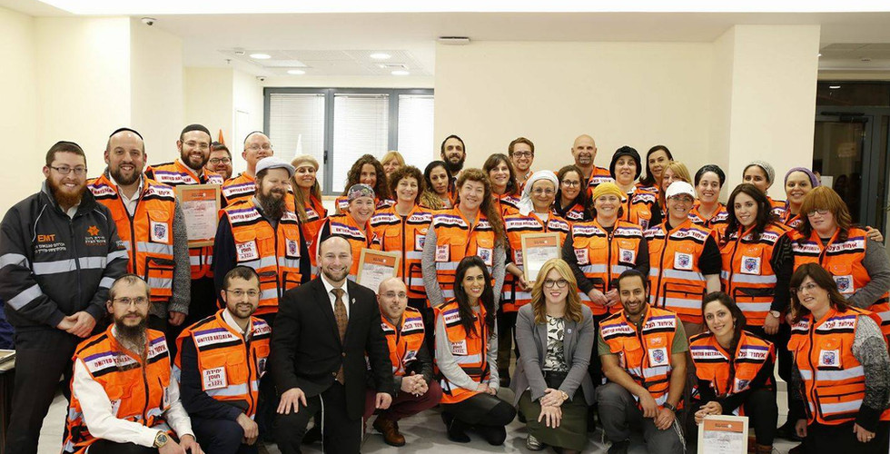 Hatzalah Graduation