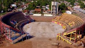Tribódromo é preparado para o 25º Festival das Tribos