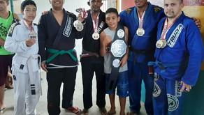 Atleta conquista ouro em competição de Jiu-Jitsu após sofrer AVC em Oriximiná