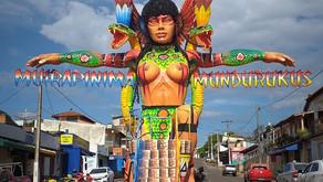 Instalado Portal Tribal na rua Barão do Rio Branco