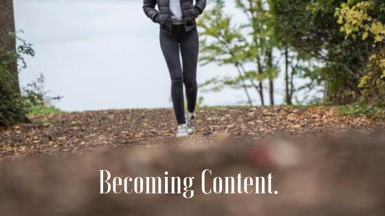 Becoming Content