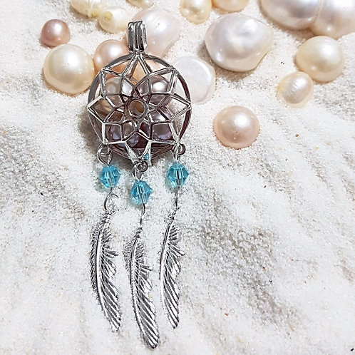 Aquamarine Dreamcatcher