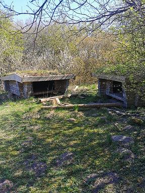 Shelter i smuk natur i hyggelige landsby Rudme