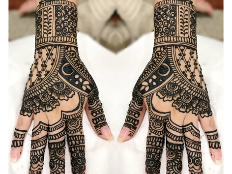 Engagement Henna