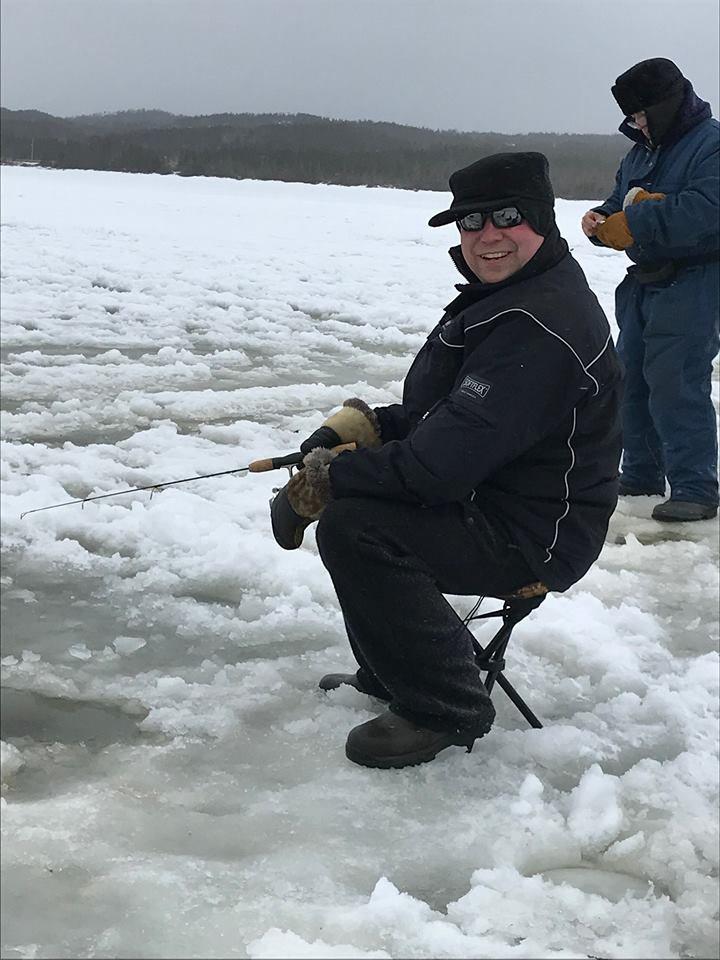 On Ice- Ice fishing