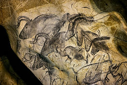 Horses and Aurochs from Chauvet.jpg