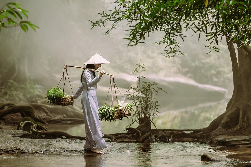 Women carrying baskets shutterstock_1113