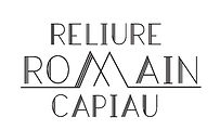Reliure Romain Capiau - Logo