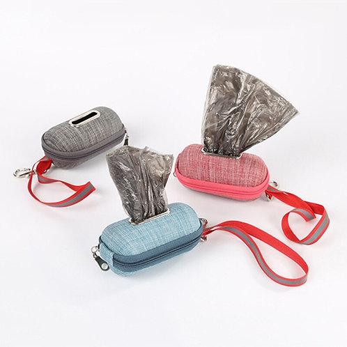 Poop Bag Dispenser with biodegradable bags