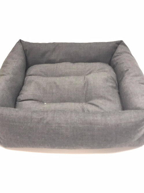 Grey Box Bed
