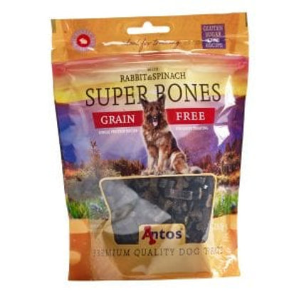 Super Bones Rabbit & Spinach (150g)