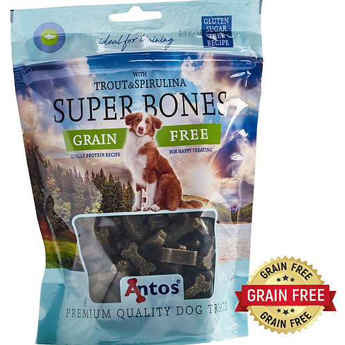 Super Bones Trout And Spirulina (150G)