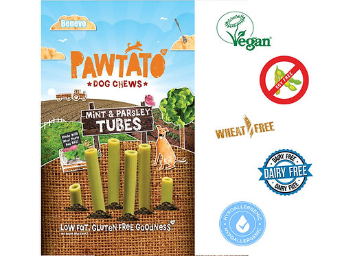 Pawtato Mint And Parsley Tubes 90G