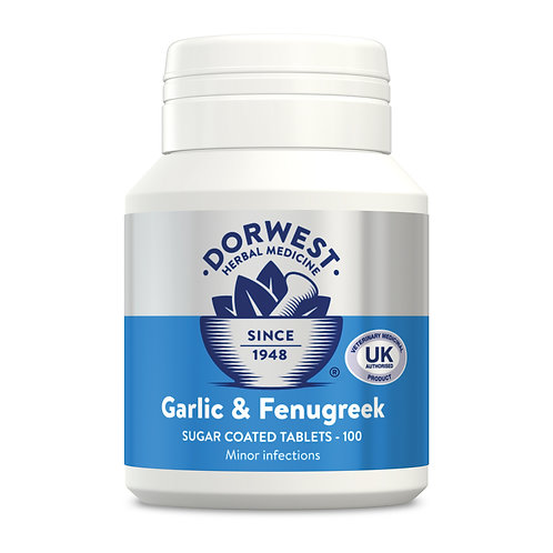 Dorwest Garlic & Fenugreek 100 Tablets