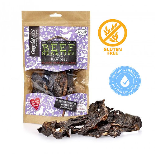 Green And Wilds Beef Hearties 140G