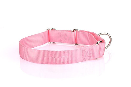 Nylon Martingale Collar -Pink