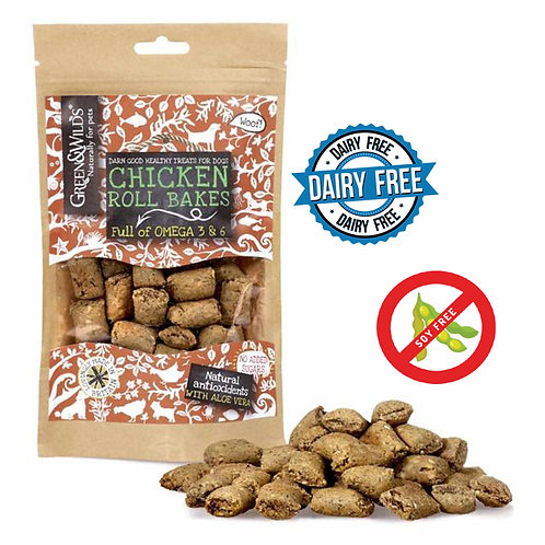 Green And Wilds Chicken Roll Bakes 150G