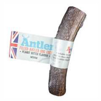 Peanut Butter Filled Antler Medium( 80-140g)