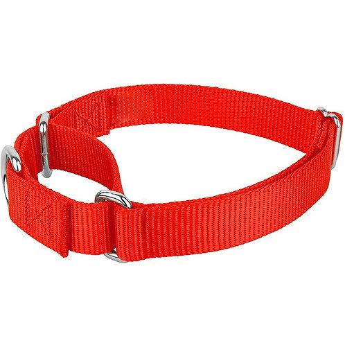 Nylon Martingale Collar - Red