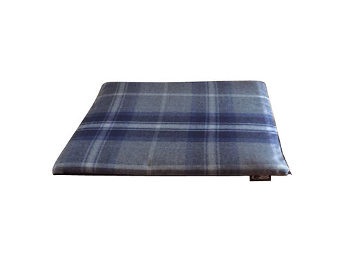Check Fabric Top Zipped Cage Mats - Choice of colours