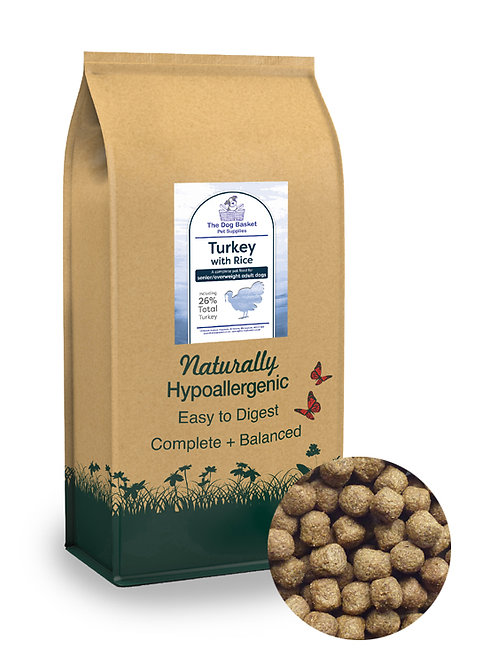 Naturals  Senior/Light Turkey With Rice 100G