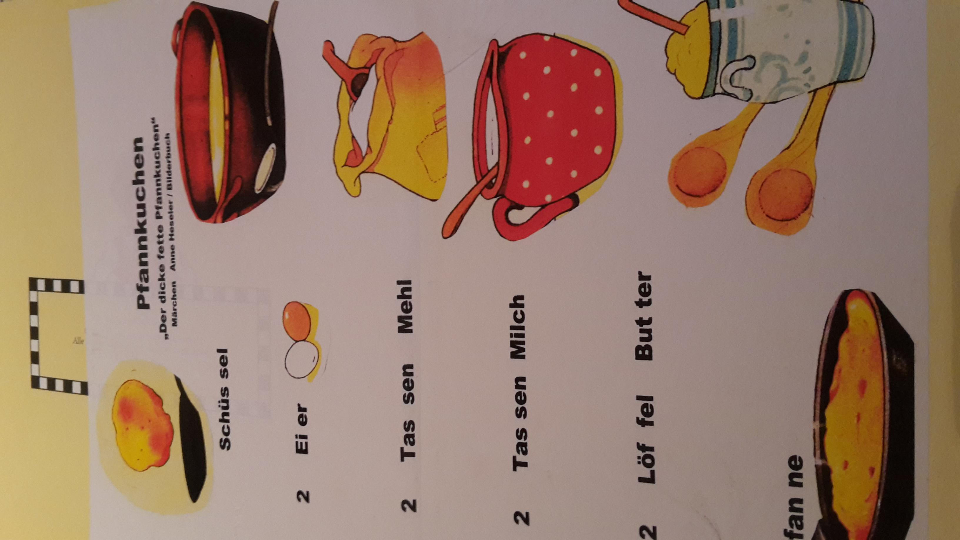 Rezept für die Kinder