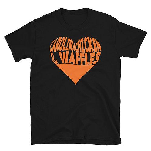 Carolina Chicken & Waffles Short-Sleeve Unisex T-Shirt