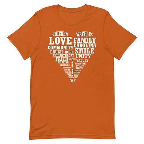 Heart Collage Short-Sleeve Unisex T-Shirt