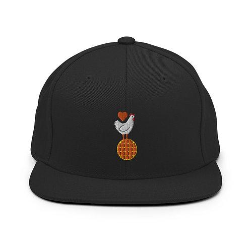 Love Chicken & Waffles 2 Snapback Hat