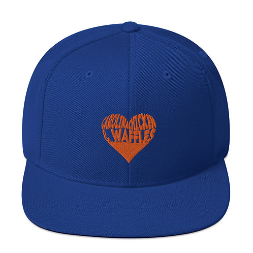 Royal Blue CCW Snapback Hat