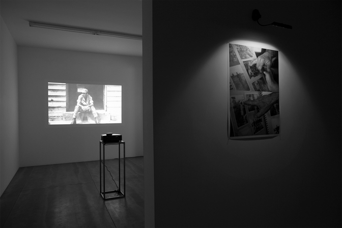"""""""Image,Time, Memory"""", 2018. Exhibition view, Fernando Santos Gallery, Porto."""