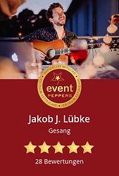 Eventpeppers_Jakob_J._Luebke_Hochzeitssaenger Osnabrueck