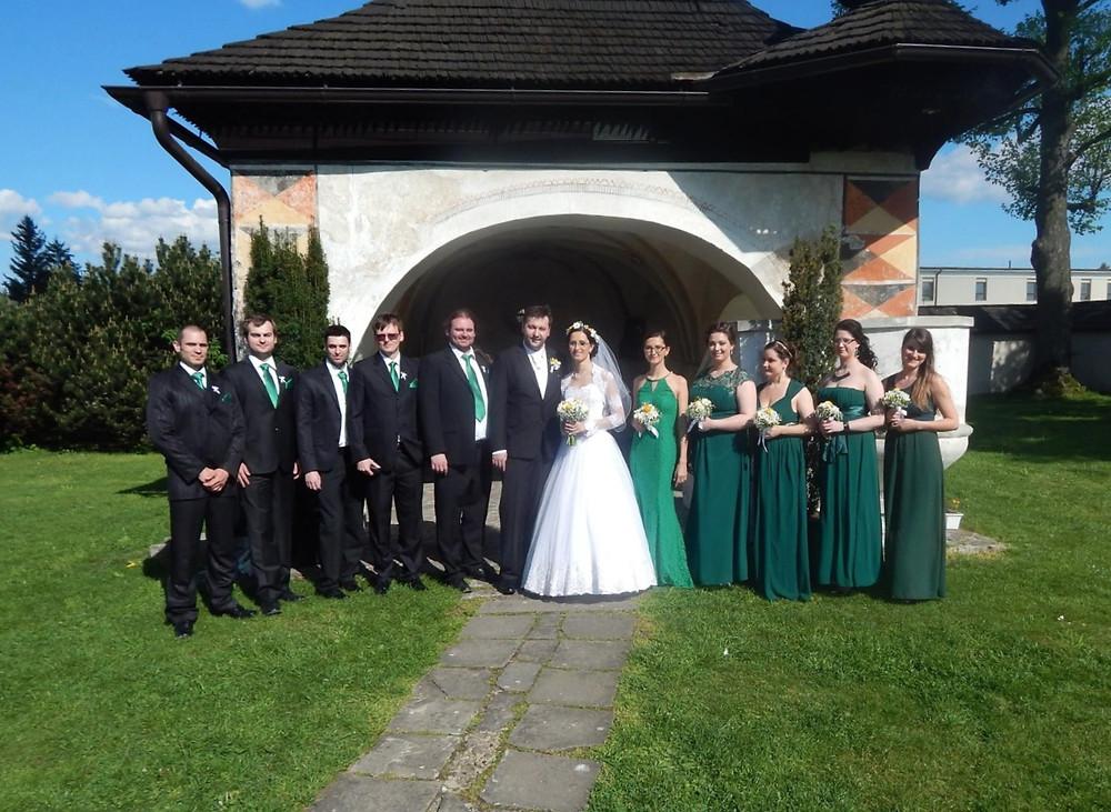 wedding, bridesmaids