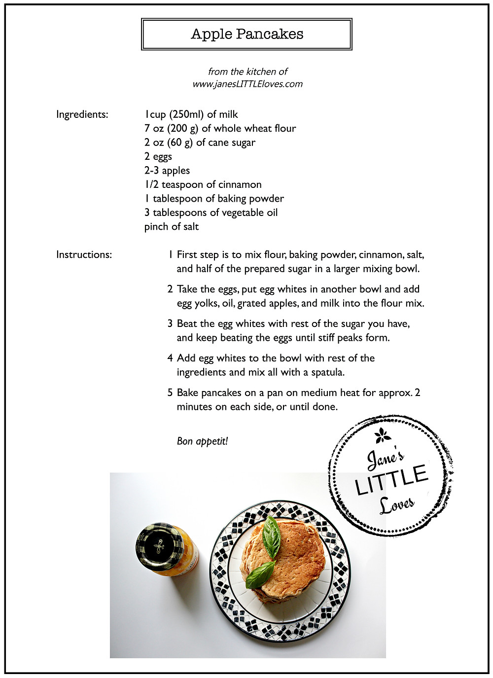 download recipe card