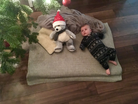 4 quick takes: on 1st Christmas and baby food