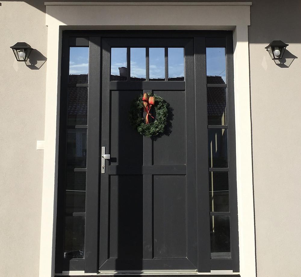 front door, home