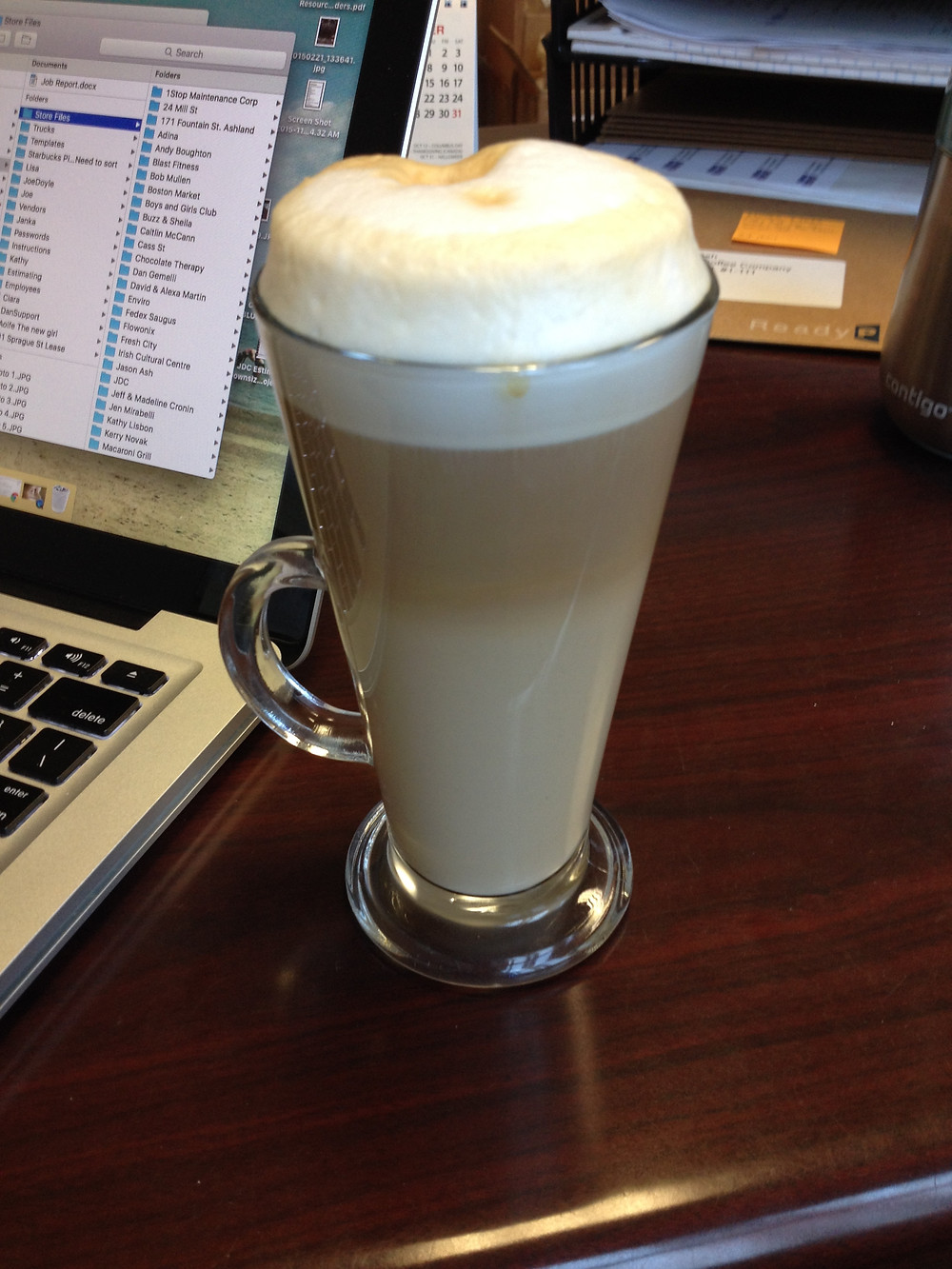 coffee, latte