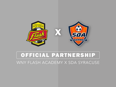 New Partnership: SDA x WNY Flash