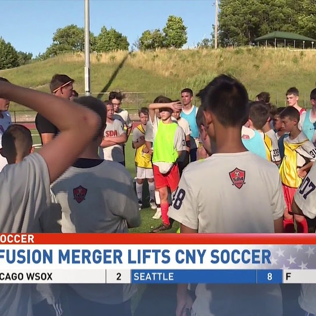 CNY Soccer On The Rise: SDA, Fusion Merger Lifts Sport's Profile In Syracuse