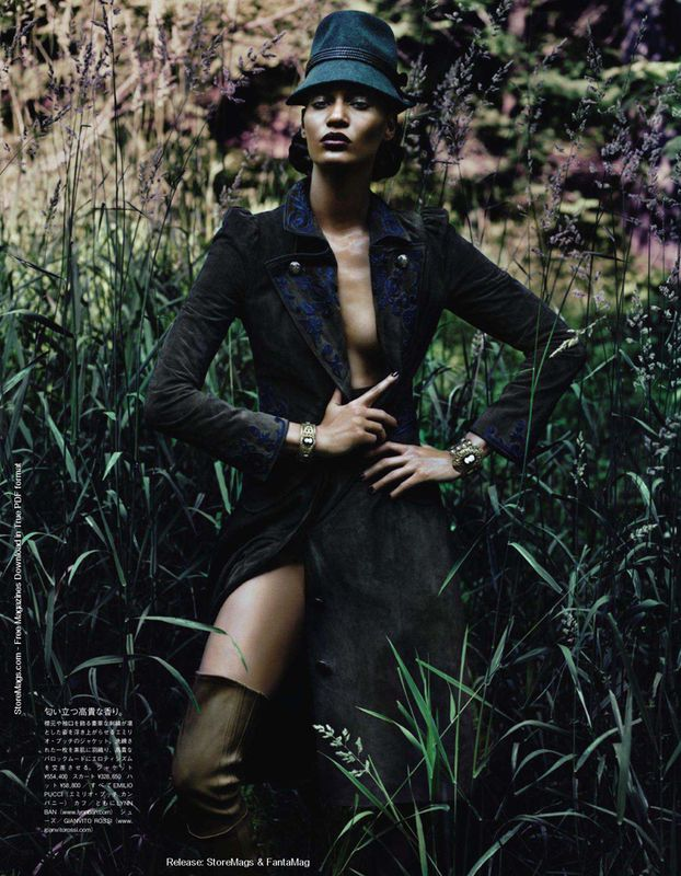 'Forgiving Wilderness' Joan Smalls by Solve Sundsbo for Vogue Japan December 2011 [Editorial]6a00e54