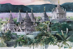 Pagoda Dawn