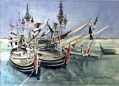 Selerek Sardine Boats