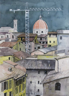 A Crane In Florence