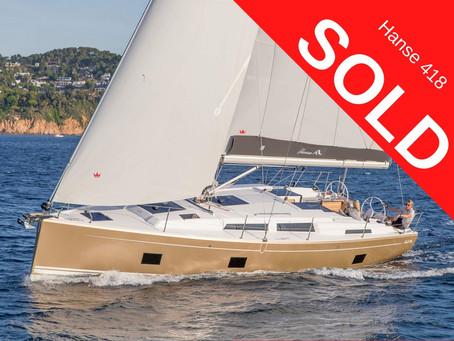 Brand New Hanse 418 SOLD!!