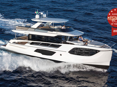 """EUROPEAN POWERBOAT AWARD: ABSOLUTE NAVETTA 64 WINS IN THE CATEGORY """"UP TO 20 M"""""""
