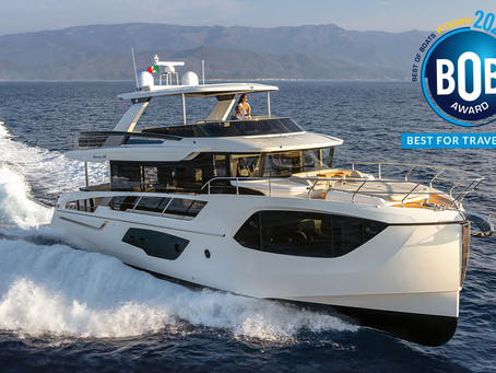 "Best Of Boats Awards 2020: Absolute Navetta 64 is the ""Best For Travel"""